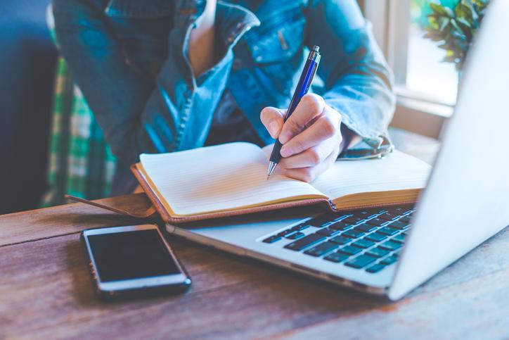 Writing Blog Post